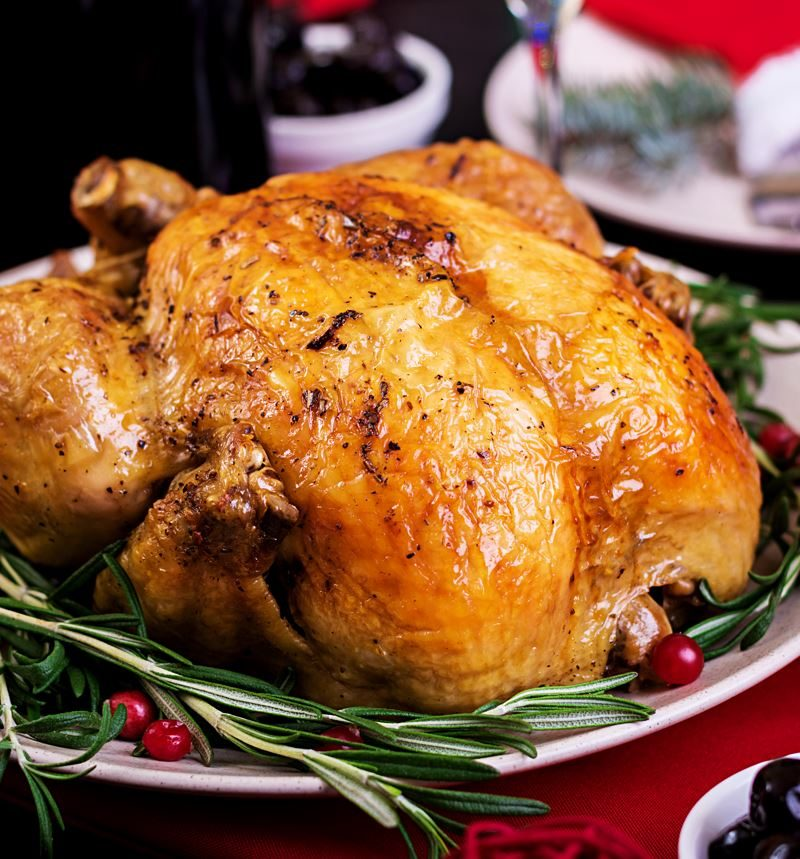 EASY ROAST CHICKEN FOR COMPANY