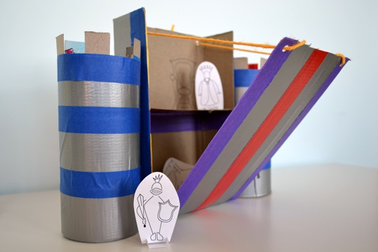 TOY DESIGN: CEREAL BOX CASTLE