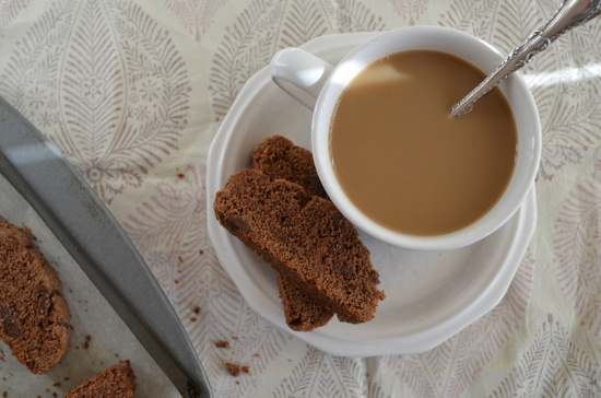 Gluten and Nut-Free Double Chocolate Biscotti