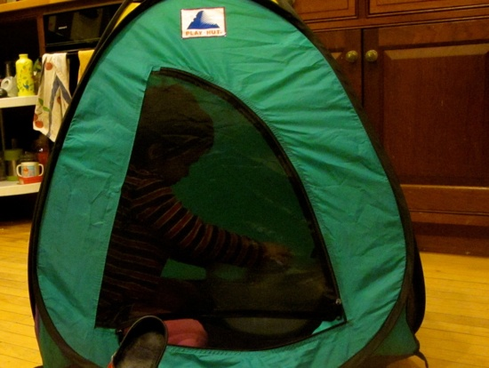 Tent Magic Or What to Get If You Want to Make a Preschooler Happy